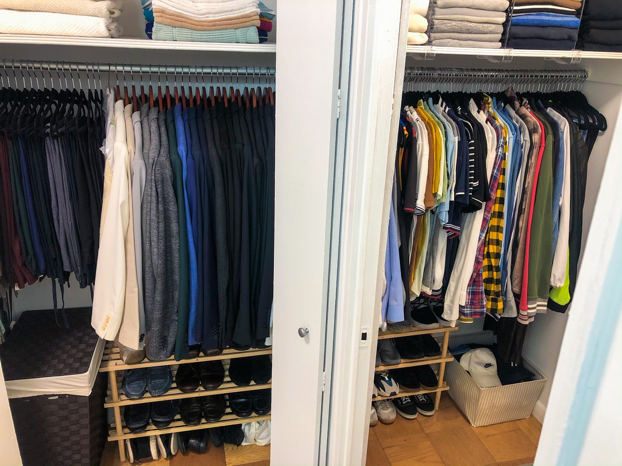 His Double Closets