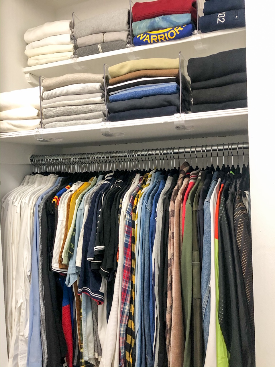 His Weekend Closet