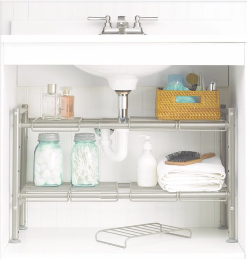 Top 3: Expandable Under The Sink Shelf